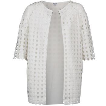 Textil Ženy Kabáty Brigitte Bardot BB44197 Bílá