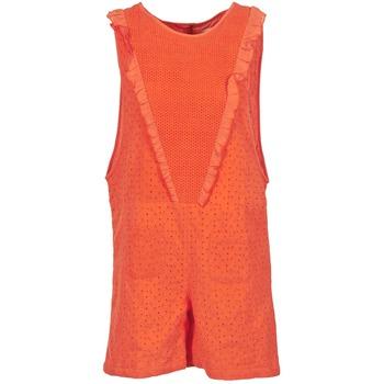 Textil Ženy Overaly / Kalhoty s laclem Brigitte Bardot BB44084 Korálová