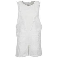 Textil Ženy Overaly / Kalhoty s laclem Brigitte Bardot BB44084 Bílá