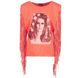 Textil Ženy Tílka / Trička bez rukávů  Brigitte Bardot BB44075 Korálová