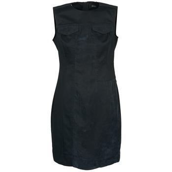Diesel Krátké šaty D-SIRY - Černá