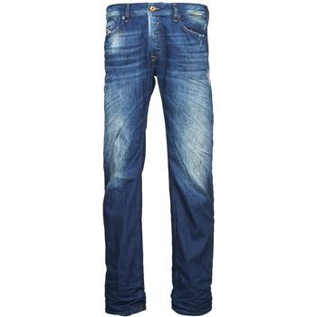 Textil Muži Rifle rovné Diesel WAYKEE Modrá