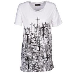 Textil Ženy Trička s krátkým rukávem Religion B123CND13 Bílá
