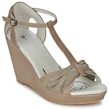Boty Ženy Sandály One Step CEANE Šedobéžová / Pozlacená / Šedobéžová