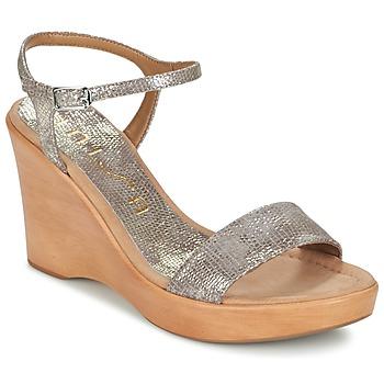 Boty Ženy Sandály Unisa RITA Zlatá