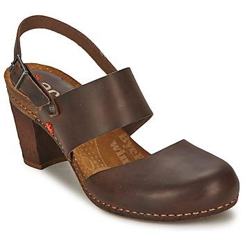 Boty Ženy Sandály Art IMEET Hnědá