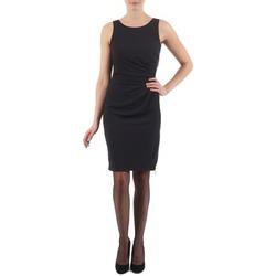 Textil Ženy Krátké šaty Esprit BEVERLY CREPE Černá