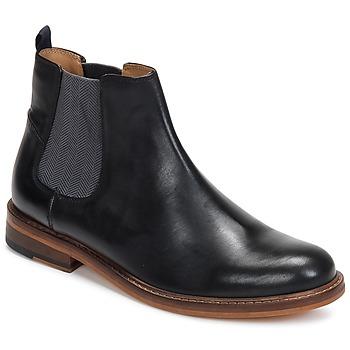 Boty Muži Kotníkové boty Ben Sherman DEON CHELSEA BOOT Černá