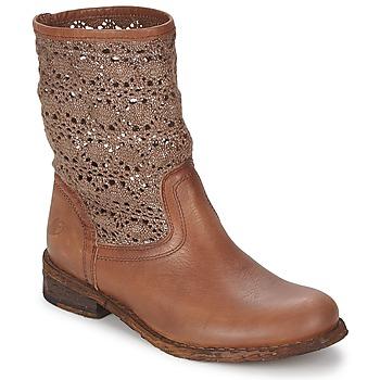 Boty Ženy Kotníkové boty Felmini GREDO Čokoládová