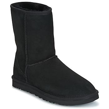 Boty Ženy Kotníkové boty UGG CLASSIC SHORT Černá