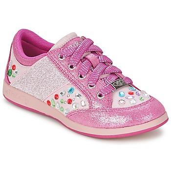 Boty Dívčí Nízké tenisky Lelli Kelly GLITTER-ROSE-CALIFORNIA Růžová