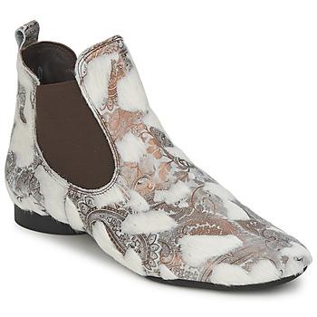 Boty Ženy Kotníkové boty Think ASSAM Béžová