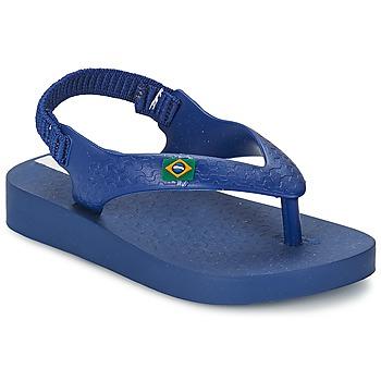 Boty Děti Sandály Ipanema CLASSICA BRASIL BABY Modrá