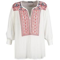 Textil Ženy Halenky / Blůzy Antik Batik CAREYES Bílá