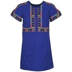 Textil Ženy Krátké šaty Antik Batik EMILIE Tmavě modrá