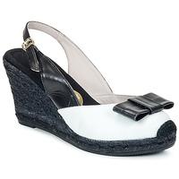 Boty Ženy Sandály RAS FROI Černá / Bílá