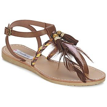 Boty Ženy Sandály Coolway MELROSE Hnědá