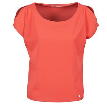 Textil Ženy Trička s krátkým rukávem Les P'tites Bombes S145003 Červená