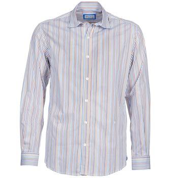 Textil Muži Košile s dlouhymi rukávy Serge Blanco DORILANDO Modrá