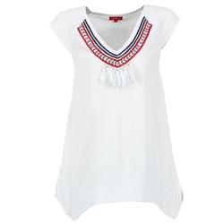 Textil Ženy Trička s krátkým rukávem Derhy GALION Bílá