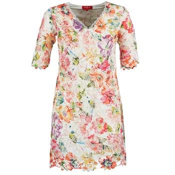 Textil Ženy Krátké šaty Derhy EBULLITION Krémově bílá