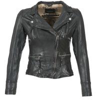 Textil Ženy Kožené bundy / imitace kůže Oakwood 60861 Černá