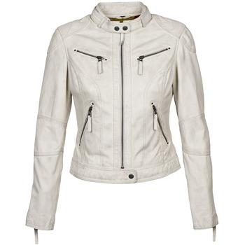Textil Ženy Kožené bundy / imitace kůže Oakwood 60135 Bílá