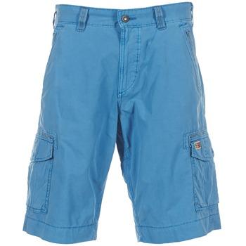 Textil Muži Kraťasy / Bermudy Napapijri PORTES A Modrá