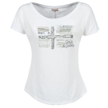 Textil Ženy Trička s krátkým rukávem Napapijri SINK Bílá