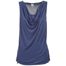 Textil Ženy Tílka / Trička bez rukávů  Bench DUPLE Modrá