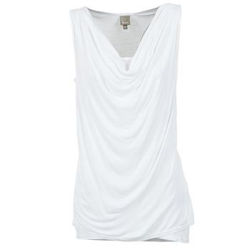 Textil Ženy Tílka / Trička bez rukávů  Bench DUPLE Bílá