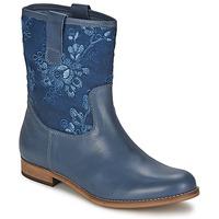 Boty Ženy Kotníkové boty Alba Moda FALINA Modrá