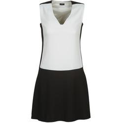 Textil Ženy Krátké šaty Joseph DORIA Černá / Bílá