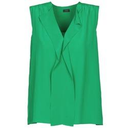 Textil Ženy Tílka / Trička bez rukávů  Joseph DANTE Zelená