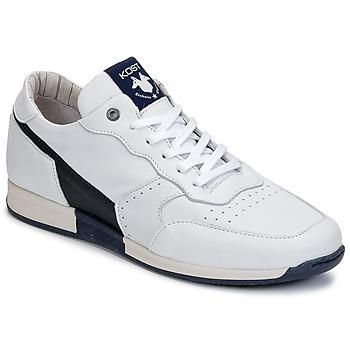 Boty Muži Nízké tenisky Kost HOOPER Bílá / Tmavě modrá