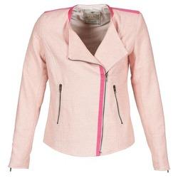 Textil Ženy Saka / Blejzry Chipie BRENES Růžová