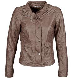 Textil Ženy Kožené bundy / imitace kůže DDP GIRUP Hnědá