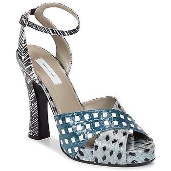 Boty Ženy Sandály Marc Jacobs Elap Modrá / Bílá