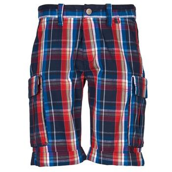 Textil Muži Kraťasy / Bermudy Oxbow TAKAROA Tmavě modrá / Červená