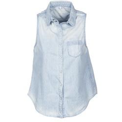 Textil Ženy Košile s krátkými rukávy Pepe jeans POCHI Modrá