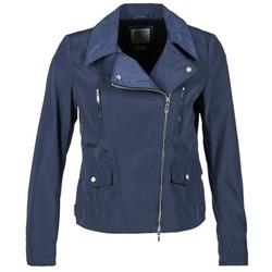 Textil Ženy Bundy Geox ZIPUL Tmavě modrá
