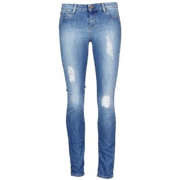 Textil Ženy Tříčtvrteční kalhoty Acquaverde SCARLETT Modrá