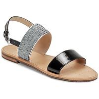 Boty Ženy Sandály Geox SOZY A Černá