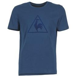 Textil Muži Trička s krátkým rukávem Le Coq Sportif ABRITO T Tmavě modrá