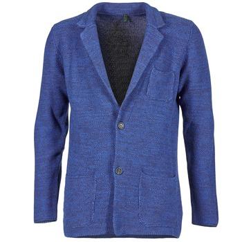 Textil Muži Saka / Blejzry Benetton BLIZINE Tmavě modrá