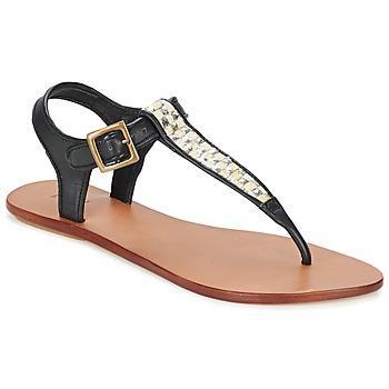 Boty Ženy Sandály Koah MELL Černá / Stříbřitá