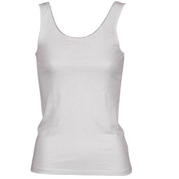 Textil Ženy Tílka / Trička bez rukávů  Majestic 701 Bílá