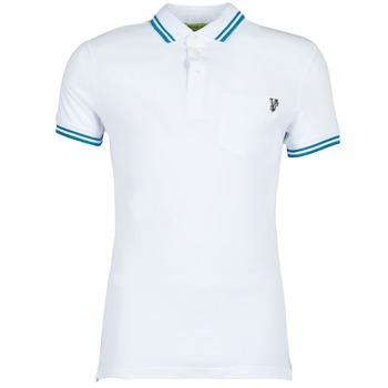 Textil Muži Polo s krátkými rukávy Versace Jeans WINGS Bílá
