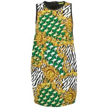 Textil Ženy Krátké šaty Versace Jeans NDM909 BIS Černá