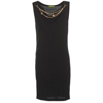 Textil Ženy Krátké šaty Versace Jeans NDM931 Černá